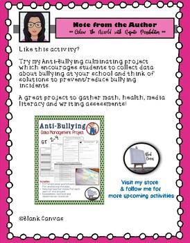 FREEBIE: Anti-Bullying Craftivity