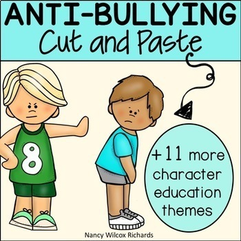 Anti Bullying Cut and Paste Activities
