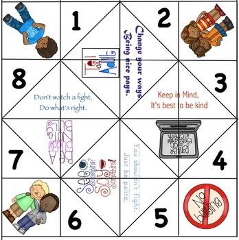 Anti-Bullying Fortune Teller Game