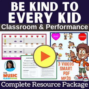 "Anti-Bullying/Friendship Song | ""Be Kind to Every Kid"" 
