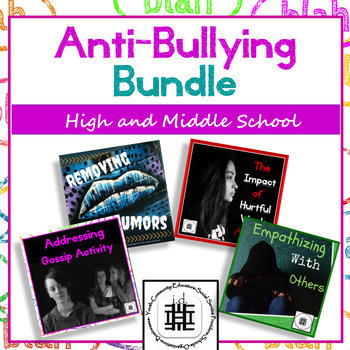 Anti- Bullying Growing Bundle