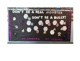 Anti-Bullying/ Halloween Bulletin Board