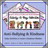 Anti-Bullying & Kindness Activity-a-day Calendar - Anti-Bullying Week Ideas