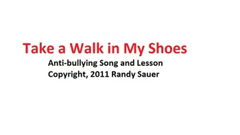 Anti Bullying Lesson and Song