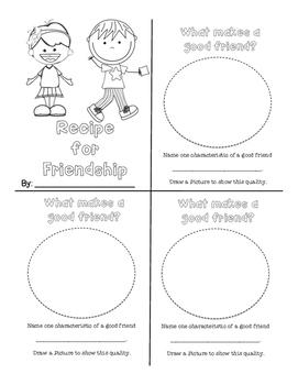 Anti-Bullying: My Friendship Book