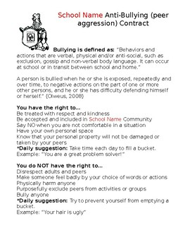 Anti-Bullying Pledge