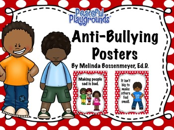 Anti-Bullying Poster Set
