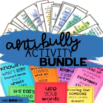 Anti Bullying Posters, Pennants and Bookmarks
