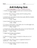 Anti-Bullying Quiz