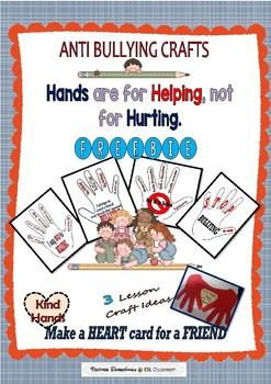 Anti- Bullying Resources-  HANDS - Craft Lesson Ideas