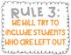 Anti-Bullying Rules- Bright Colors
