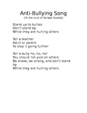 Anti-Bullying Song