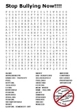 Anti-Bullying Word Search
