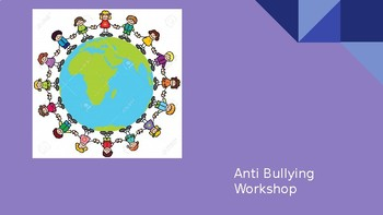 Anti-Bullying Workshop PowerPoint - for Primary School Parents