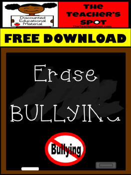 Anti Bullying Writing Prompt