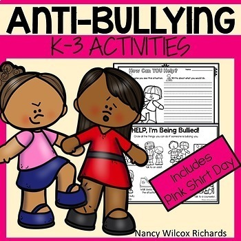 Anti-Bullying Activities and Pink Shirt Day  K-3
