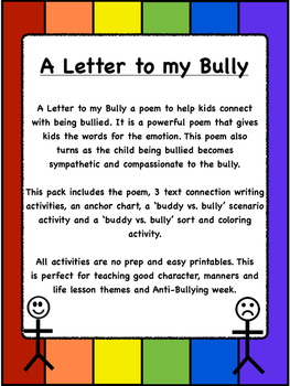 [Recommended]Anti-bullying