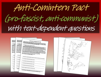Anti-Comintern (anti-communist) Pact) - text, background, guiding questions