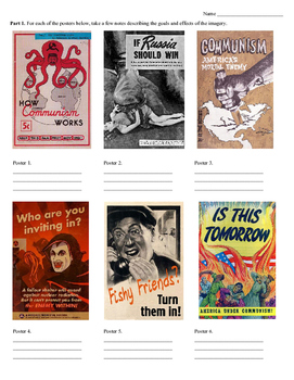 Anti-Communist Propaganda Essay Project