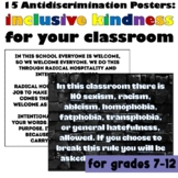 Anti-Discrimination Signs (Back to School) #kindnessnation #weholdthesetruths