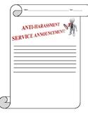 Anti-Harassment Service Announcement