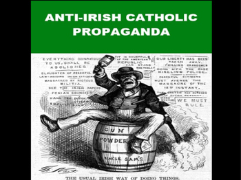 Anti-Irish Propaganda PowerPoint