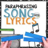 Anti Plagiarism Paraphrasing Activity with Song Lyrics