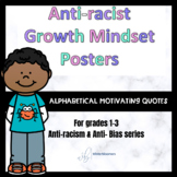 Anti-Racist Growth Mindset Posters // Anti-racism series