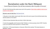 Anti-Semitism and Socialization under the Nazi Regime Webquest