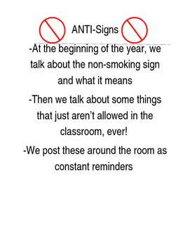 Anti-Signs