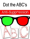 Anti-Suppression. Dot it. Dot the Letter. Alphabet. Eye Therapy. Amblyopia.
