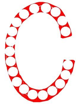Anti-Suppression. Dot it. Dot the Letter. Alphabet. Eye Therapy. Amblyopia.