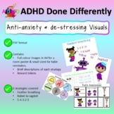 Anti-anxiety and de-stressing visuals for children