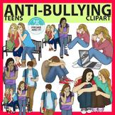 Bullying / Sad Teens Clip Art