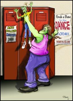 Anti bullying Illustration