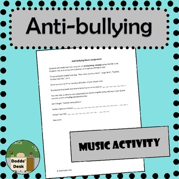 Anti-bullying Music Project