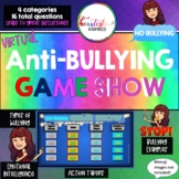 Anti-bullying Virtual Game SHOW -Types, roles, examples of bullying - No bullies