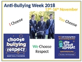 Anti-bullying assembly - 'We choose respect'