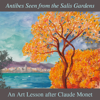 Antibes Seen from the Salis Gardens after Monet