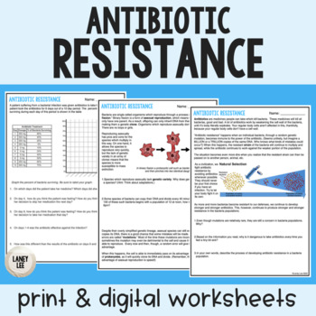 Antibiotic Resistance - Guided Reading - Print & Google Versions