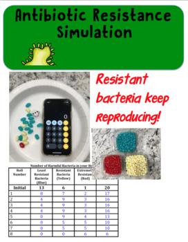 Antibiotic Resistance Simulation Lab