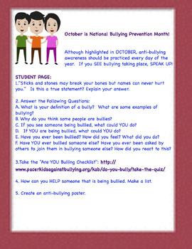 Antibullying Freebie(INA)  #KindnessNation