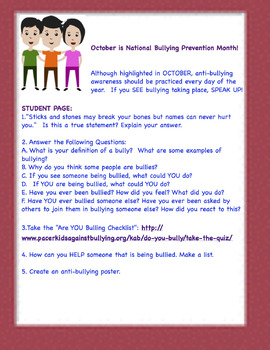 Antibullying Freebie(INA)