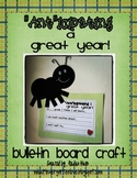 Anticipating a Great Year {Bulletin Board Craft}