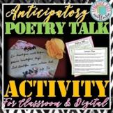 Poetry Unit Anticipation Activity