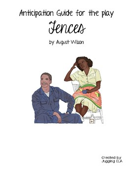 Anticipation Guide for Fences by August Wilson