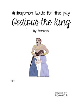 Anticipation Guide for Oedipus the King by Sophocles