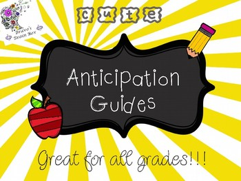 Anticipation Guides