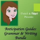 Anticipation Guides - Grammar & Writing Bundle