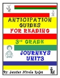 Anticipation Guides Journeys Unit-3   3rd Grade   Reading Comprehension Strategy